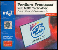 Intel Pentium Processor w/ MMX 233MHz