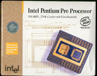 Intel Pentium Pro Processor 180MHz