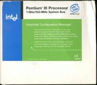 Intel Pentium iii Slot 1 Processor 1GHz